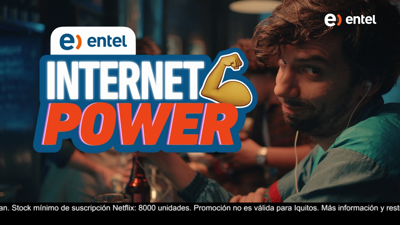 Con Entel Disfruta De Netflix Power Youtube