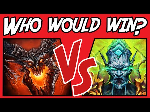 Deathwing vs Archimonde - Who Would Win? - (Warcraft Versus) #1