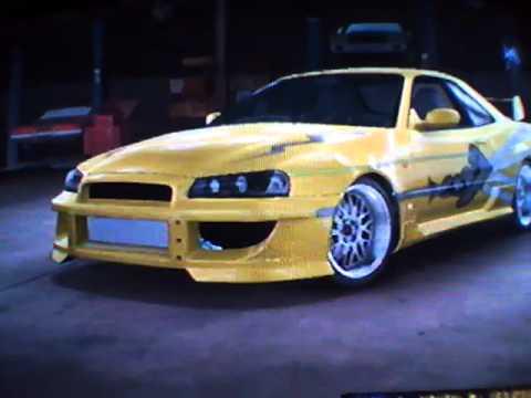 Fast And Furious 4 Skyline >> MCLA Fast And Furious Leon's skyline - YouTube