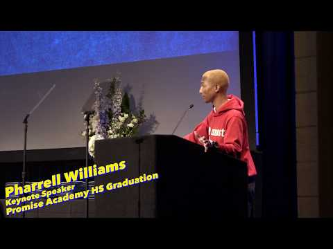 Jeanne Sparrow - Pharrell's Promise to New Graduates!