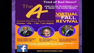 October 13, 2020   Revival Day 2