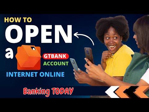 How to open GTBank internet banking online