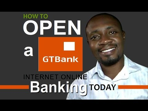 How to open GTBank internet banking online