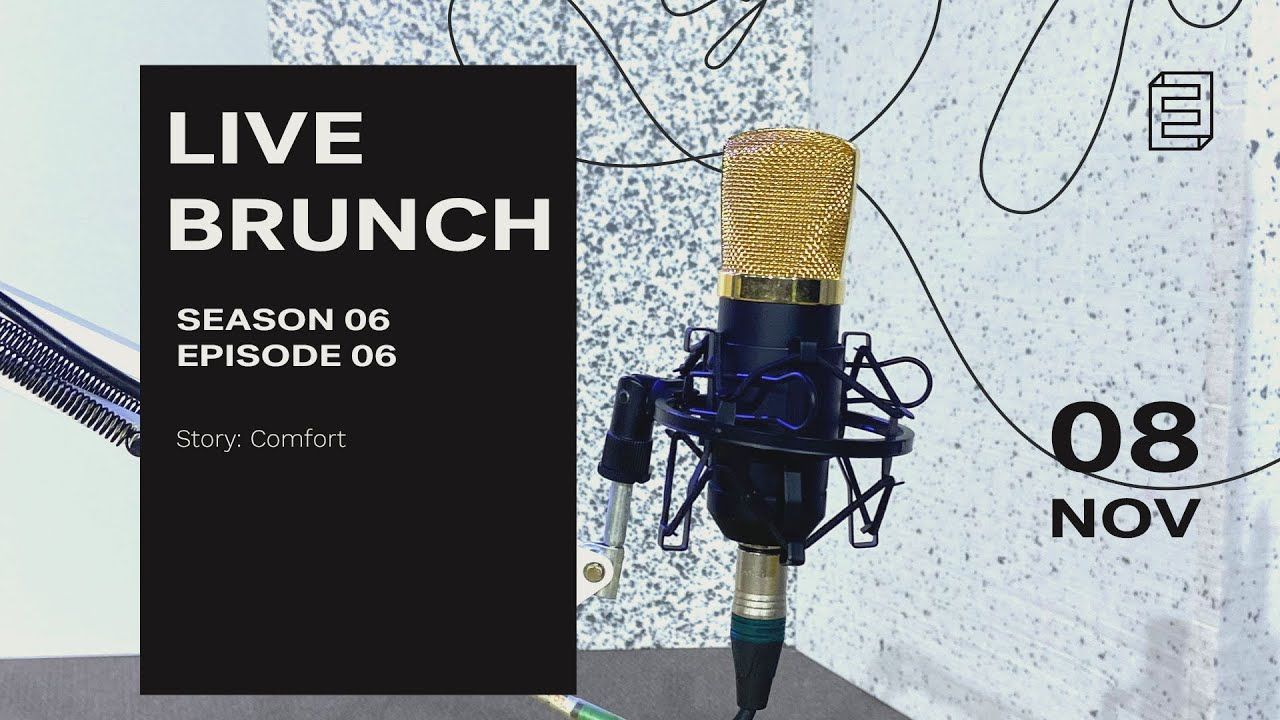 Comfort | #LiveBrunch - Season 6 Episode 6 Cover Image