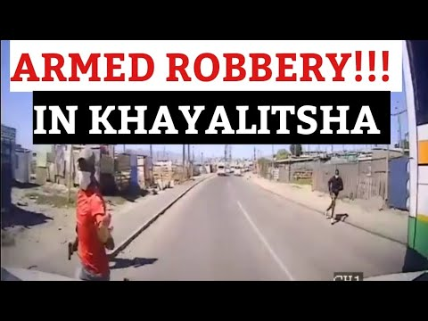 Armed Robbery in (Khayalitsha) , These criminals failed to rob a Cigarette truck...