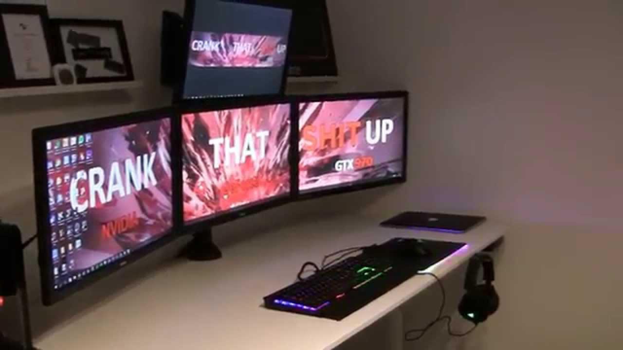 Wonderful 3 Monitor Bekant Desk - maxresdefault  Gallery_23196.jpg