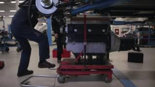 Ex-Bruce McLaren Jaguar E-type: Engine / transmission installation