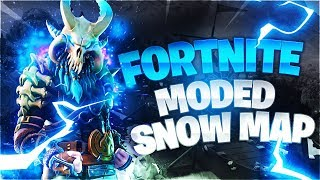 HOW TO GET THE SNOW MAP (Fortnite coding)