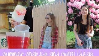 Summer Outfit Ideas and Snacks Thumbnail