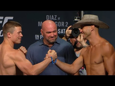 UFC 202: Official Weigh-in Rick Story vs. Donald Cerrone (im_where_the_ufc)