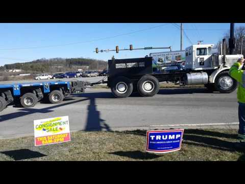 Transformer move Troutville, VA 3.1.16