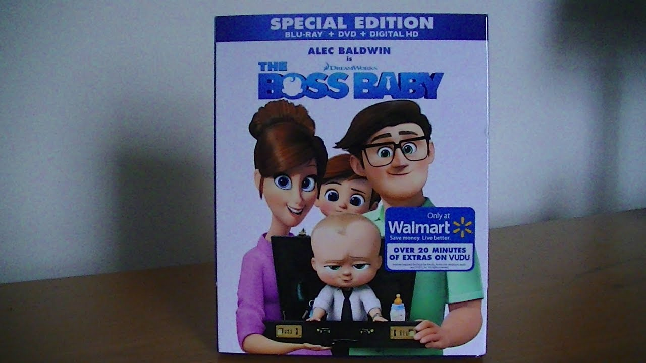 92c1b32ad7327 The Boss Baby - Blu-Ray DVD Special Edition Unboxing!! - YouTube
