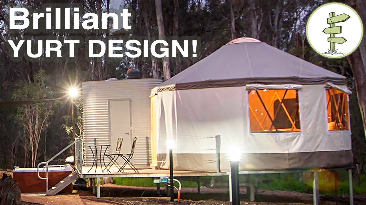 Brilliant Yurt Design Mixing Tradition with Super Modern
