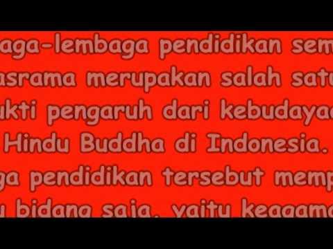 Kehidupan Masyarakat Masa Hindu Budha Di Indonesia Youtube
