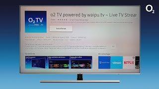 o2 TV - Installation der App auf einem Samsung Smart TV