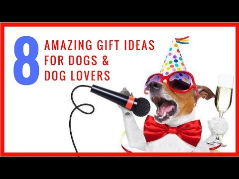 8 Amazing Gift Ideas for DOGS & DOG LOVERS!
