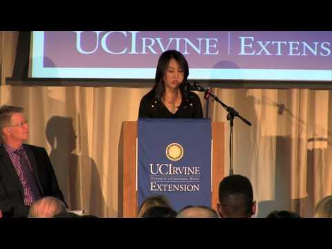 Karen Nguyen 2013 UNEX Certificate Award Acceptance Speech