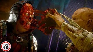 Top 10 Most Brutal Mortal Kombat Fatalities