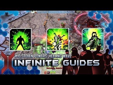 Infinite Guides #10 STOLEN POWERS:  healing wave