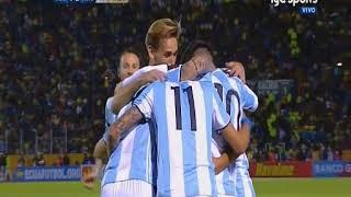 Ecuador vs Argentina (1-3) Eliminatorias Sudamericanas Rusia 2018 Fecha 18