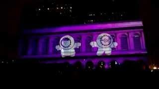 Les Anookis s'invitent à l'Opéra ! Fête des lumières 2014