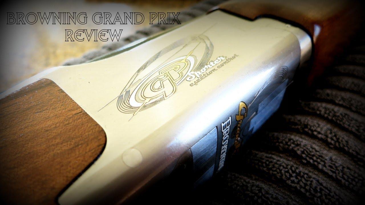 Browning grand Prix sporter Manual