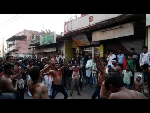 Talwar ka Matam Roze Aashura me(Raipur Azadari)