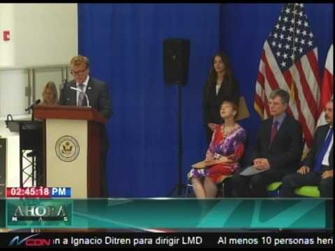 James Brewster concluye misión diplomática en RD
