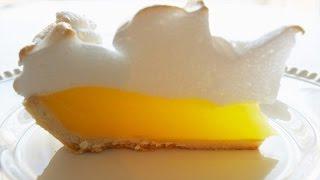 Лимонный пирог. Рецепт приготовления. Lemon pie. Quick recipe pie.