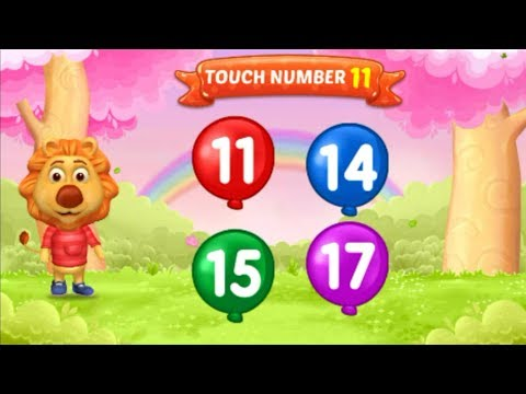 Learn to count by recognizing and matching numbers 1 to 20 for toddlers and  preschool kids