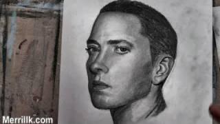 How to Draw Eminem (Portrait) Step by Step