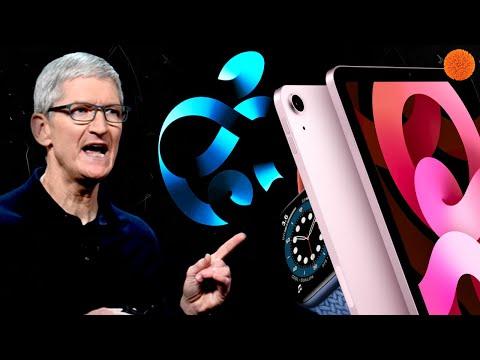 Apple Watch 6, iPad Air 2020 и ЕЩЕ! Вся презентация за 7 минут