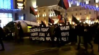 Бунт в Минске (37) на проспекте Независимости 19.12.2010.flv