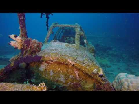 Japanese Aircraft Wrecks of Chuuk (Truk ) Lagoon August 2016