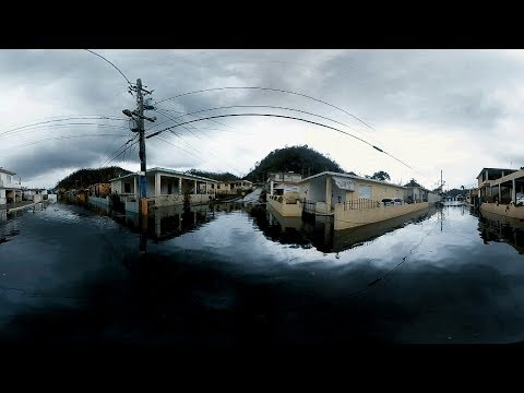 Maria's Destruction in Puerto Rico  | 360 Video + Audio | NPR