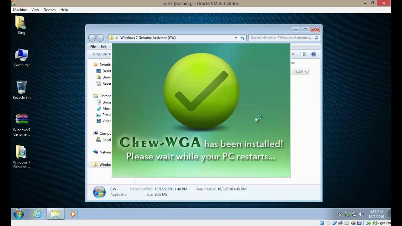 cw-ativador para windows 7 ultimate