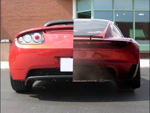 New 2020 Tesla Roadster Vs Old