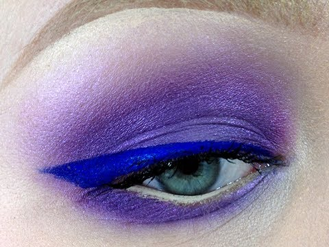 Extreme Purples for Spring Makeup Tutorial
