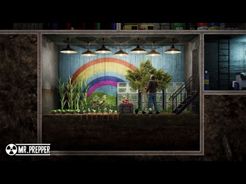 + Mr. Prepper + PREVIEW / Trailer + The Ultimative Survival Game + Like Fallout Shelter +