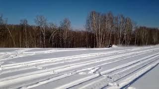 снежный джиксер в поле))) еще бы передачи не забывать переключать))