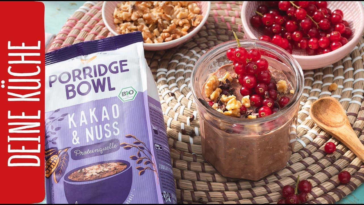Kakao-Porridge mit Anne Kissner | REWE Deine Küche