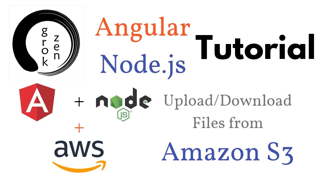 Angular 6 + Node js + Amazon S3 | Upload Files + Download Files +
