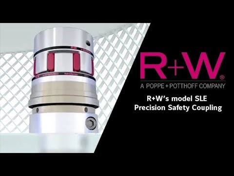 R+W's model SLE Precision Safety Coupling