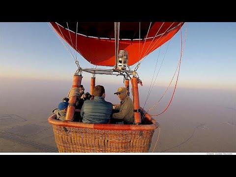 دبي: هل جرّبتم التحليق بالمنطاد برفقة طير الشاهين؟!  - نشر قبل 3 ساعة