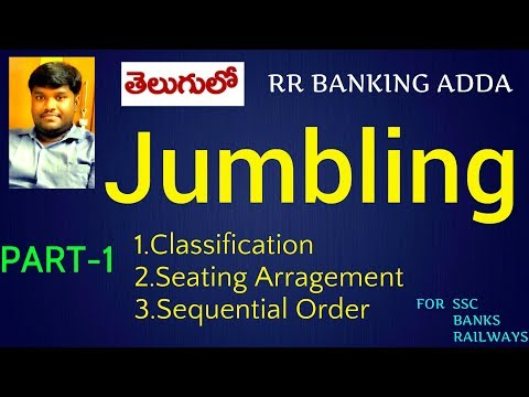 Jumbling Reasoning Tricks &Techniques || Part 1 || RR BANKING ADDA