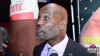 BERNARD HOPKINS REFLECTS ON SERVING 5 YRS IN PRISON & HOW HE TURNED HIS LIFE AROUND