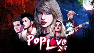 PopLove 6 | ♫ MASHUP OF 2017 | By Robin Skouteris (75 songs)