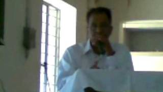 Pr.pj.john welcome speech:Tiruvalla Sharon CEM,Sunday School Annual Meet.1.02.09.