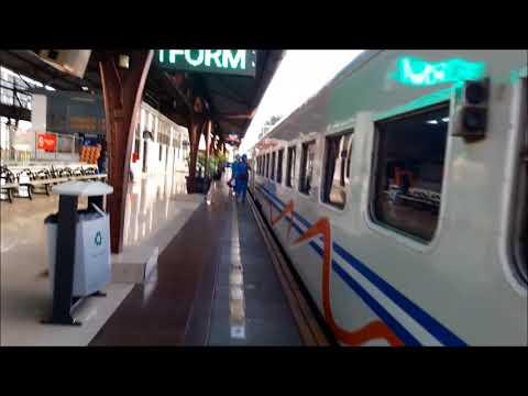 Trip Report KA 176 Brantas, Pasar Senen To Solo Jebres