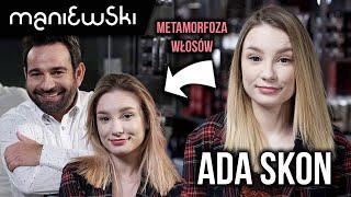 Adrianna Skon – jak dbać o włosy farbowane? Metamorfoza włosów Ady [MACIEJ MANIEWSKI]